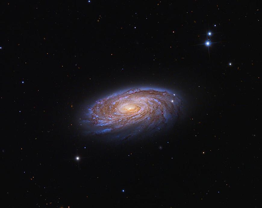 M88.  Image credit: Copyright Adam Block/Mount Lemmon SkyCenter/University of Arizona - http://www.caelumobservatory.com/gallery/m88.shtml - creative commons