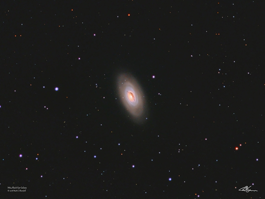 M64 by Mark Blundell.  Image used with kind permission.