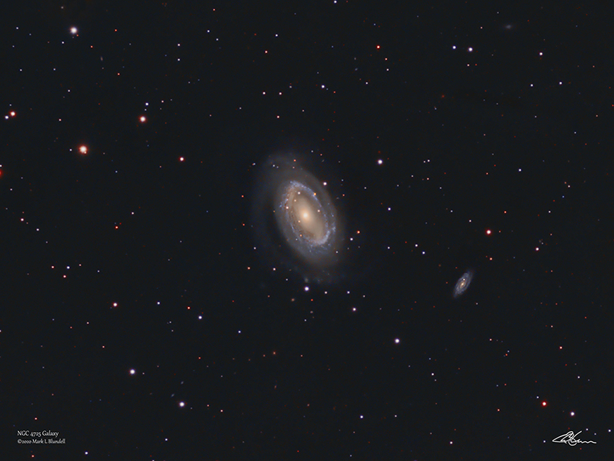 NGC4725 by Mark Blundell.  Image used with kind permission.