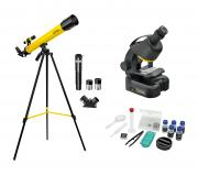 Kit Télescope + Microscope NATIONAL GEOGRAPHIC pour Débutants