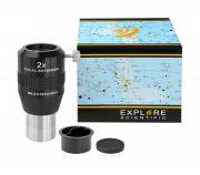 EXPLORE SCIENTIFIC Teleextender 2x 31.7mm/1.25""