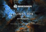 BRESSER Astro-Jahreskalender 2019 mit den wichtigesten astronomischen Ereignissen