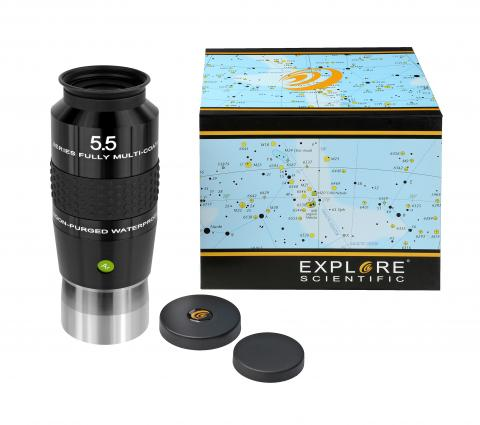 "EXPLORE SCIENTIFIC 100° Ar Oculaire 5,5mm (2"")"