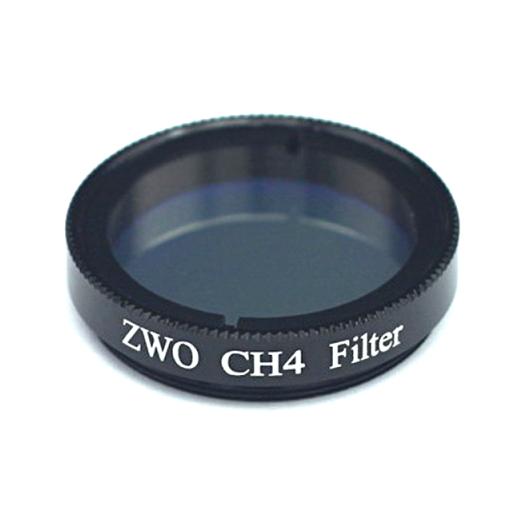 ZWO CH4 Filter: FWHM=20nm 90% Durchlauf