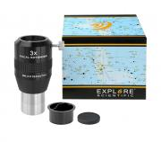 EXPLORE SCIENTIFIC Fokal Extender 3x 31.7mm/1.25""