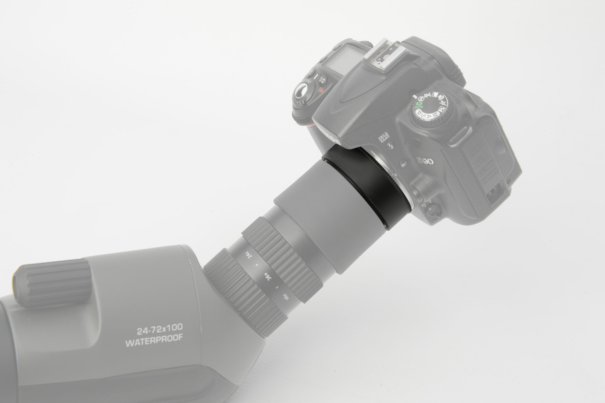 Bresser fotoadapter nikon für condor spektive telescope.house