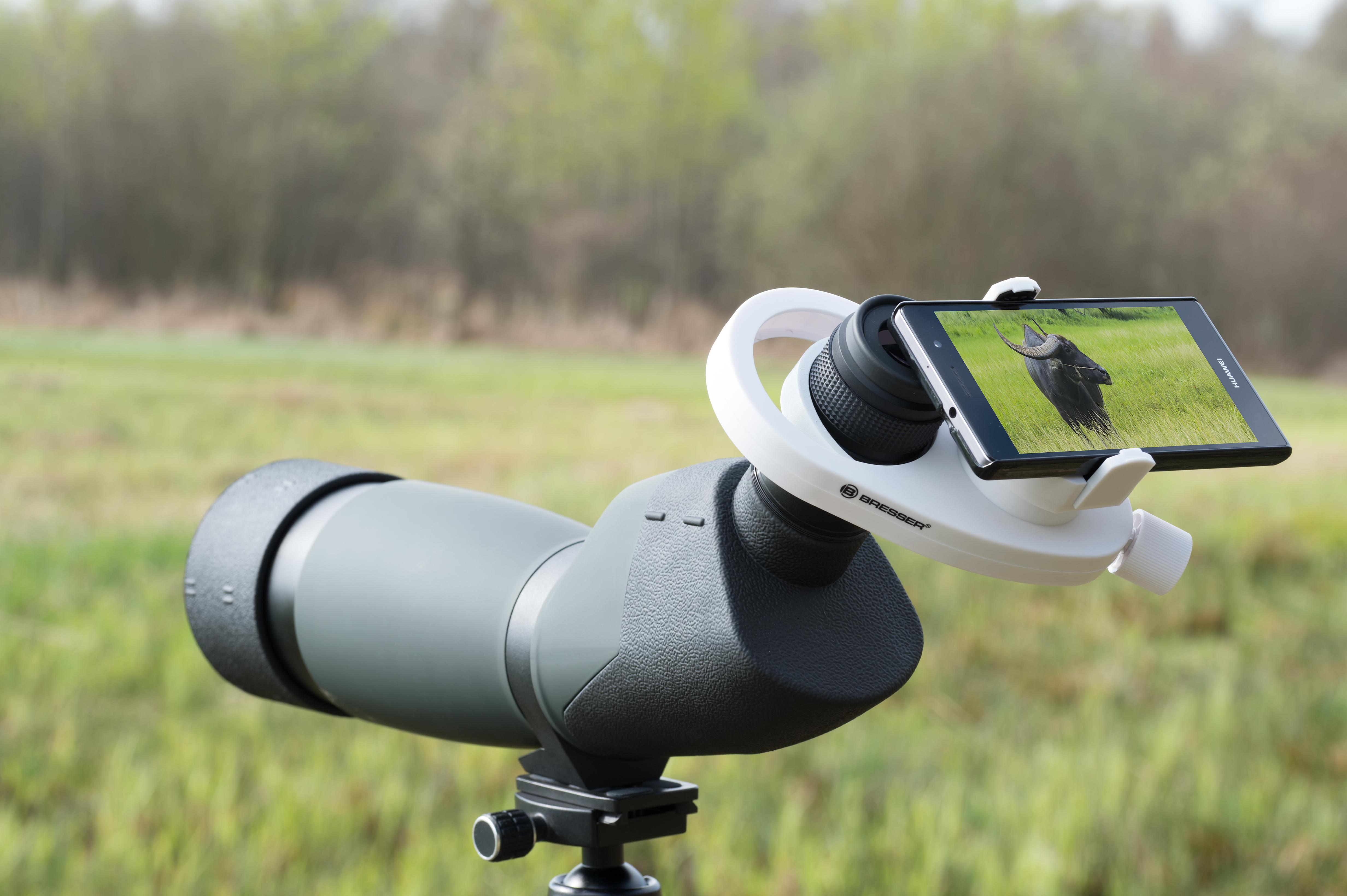 Bresser universal smartphone kameraadapter telescope.house