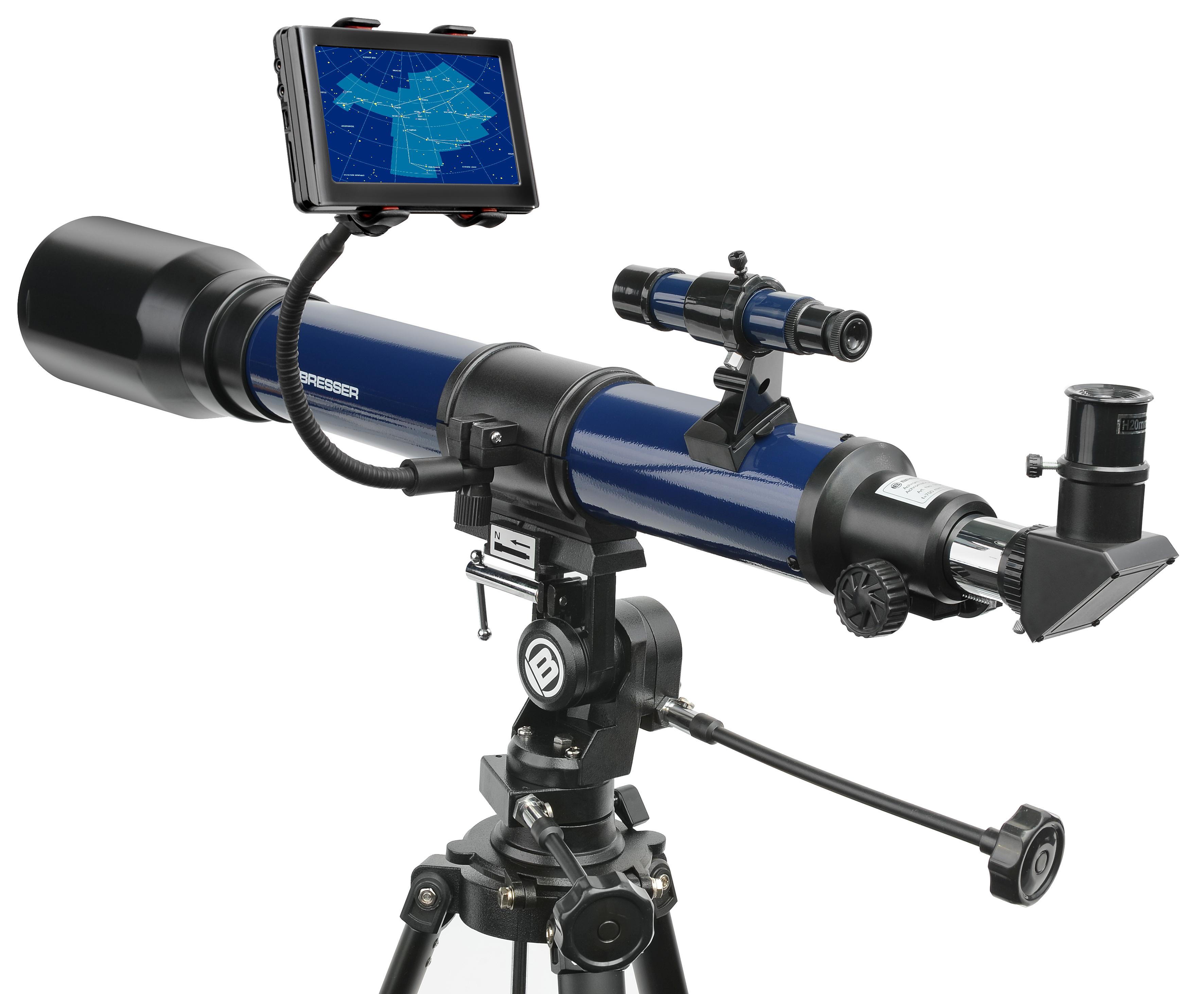 Bresser smartphone halter für fernglas teleskop telescope.house